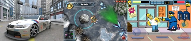 Screens from New EA iPhone Games
