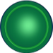 iPuck Player Object - Green Disk
