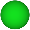 TiltBall Player Object - Green Sphere